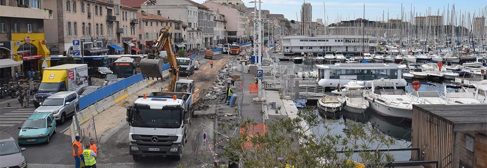 Le Vieux-Port de Marseille continue sa transformation