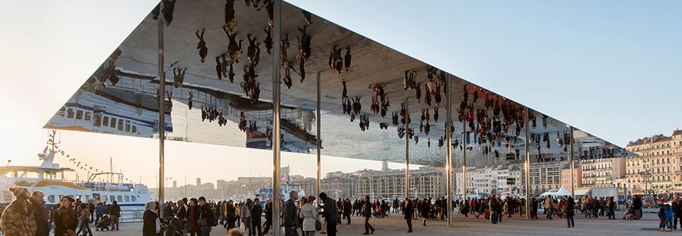 L'Ombrière du Vieux-Port récompensée par les Trophées Eiffel d'Architecture Acier 2015