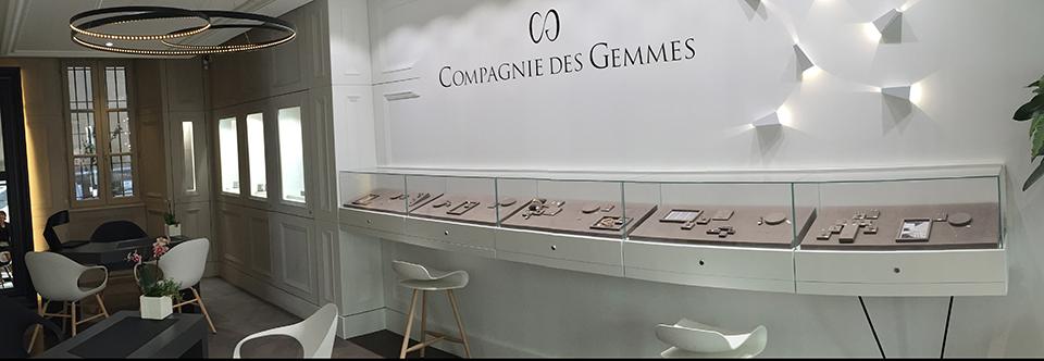 Tangram Architectes dévoile le concept de la joaillerie «Compagnie des Gemmes»