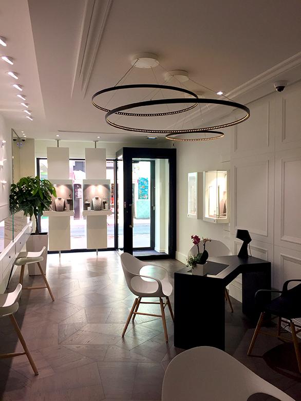 Tangram Architectes dévoile le concept de la joaillerie « La Compagnie des Gemmes » à Cannes