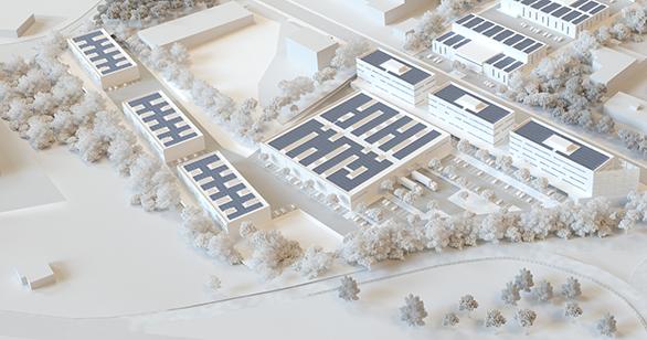 Maquette Cap Horizon / ©AMGraphisme pour Tangram Architectes