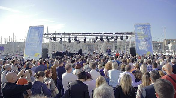 Inauguration Quai Rive-Neuve Tangram Architectes