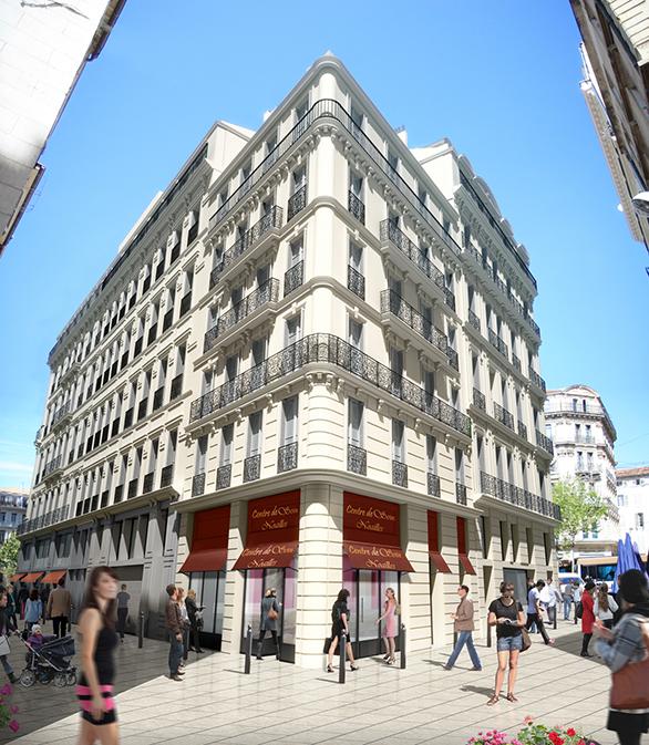 Hôtel Mercure Pôle Canebière-Feuillants Tangram Marseille