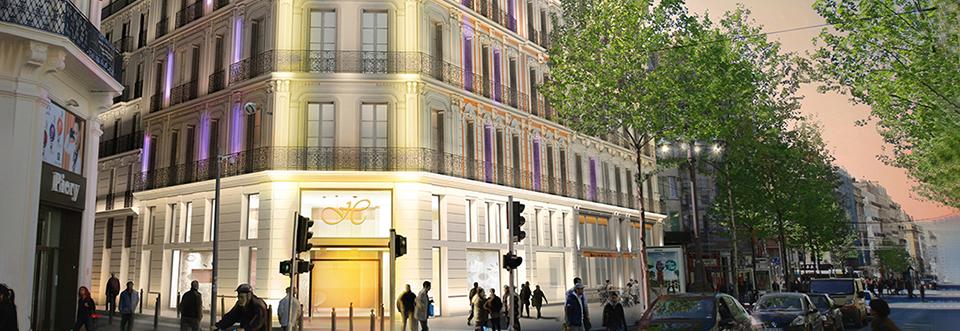 Les travaux du futur hôtel Canebière – Feuillants ont commencé