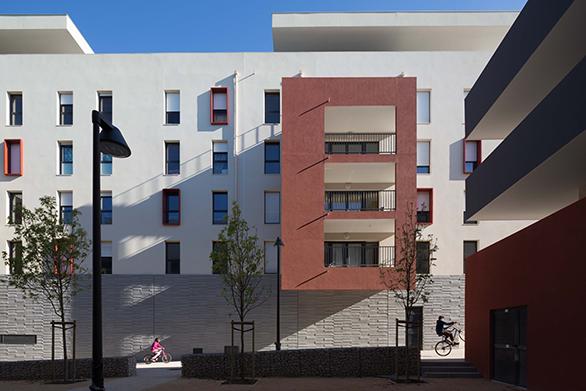 Tangram Architectes Terre de Garance Aubagne Logements