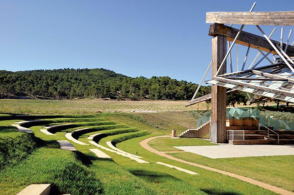 Château La Coste Pavillon de Musique Frank Gehry Tangram Architectes Maison & Objet