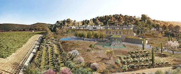 Château La Coste Tangram Architectes Maison & Objet