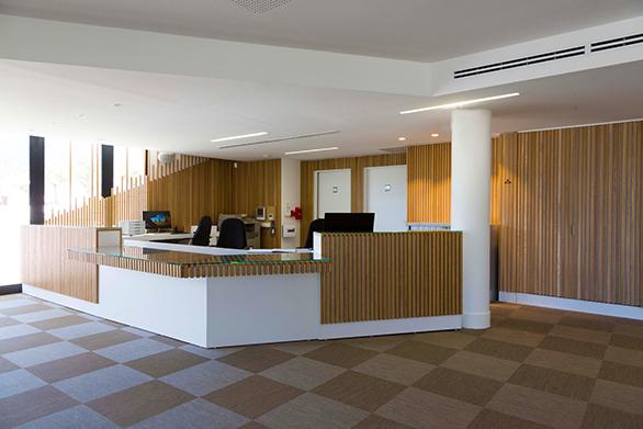 Maison des Associations de la Farlède Bois Tangram Architectes