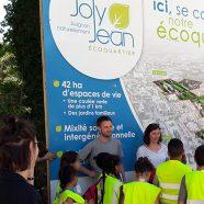 Première plantations citoyennes sur le site de l'écoquartier Joly Jean à Avignon