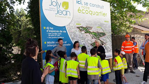 Ecoquartier Joly Jean Avignon Plantations Citoyennes Tangram Architectes Citadis