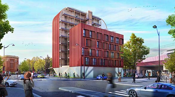 Paris- L'arche de Julia - Tangram Architectes - Sylva Conseil - Lesommer Environnement - Aida - Outarex - Mathis - ADIVbois