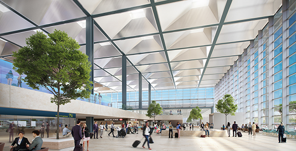 Aéroport Marseille Provence Tangram Architectes Foster + Partners WSP