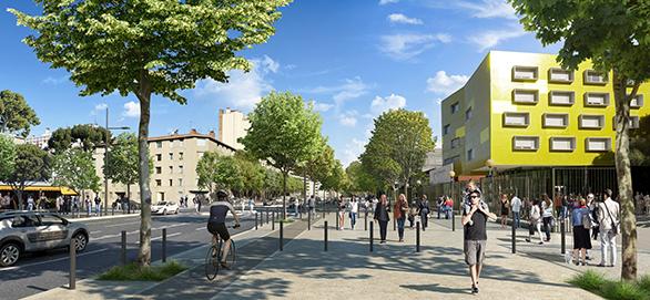 Le Jarret Campus de la Timone Marseille Tangram Devillers Métropole Aix Marseille